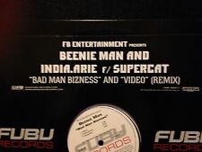 "Beenie Man And India.Arie 12"" Bad Man Bizness "" New Promo """