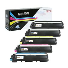 Suppliesoutlet Compatible Toner Cartridge for Brother TN210 (C,M,Y,K 5-Pack)