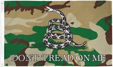 """Bandera americana /""""no Tread on Me/"""" letrero de metal 17/"""" X 12/"""" pulgadas Nueva Alta Calidad"""
