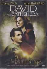 DVD - David And Bathsheba NEW Gregory Peck Susan Hayward FAST SHIPPING !