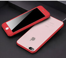 360 Protection Dustproof Matte Full Cover Front Back Case For iPhone 6s 7 8 Plus