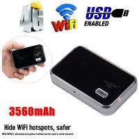Portable 4G LTE Wifi Wireless Router Mobile Hotspot Modem SIM Card Slot Unlocked
