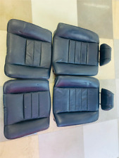 W126 SEC Mercedes W126  rear seats, blue