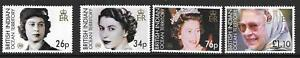 BRITISH INDIAN OCEAN TERR SG348/51 2006 80th BIRTHDAY OF QUEEN ELIZABETH II MNH