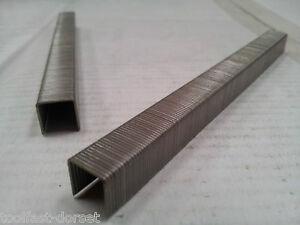 Omer 64 Staples, 22/23 Gauge, Galvanised, lengths 4mm - 10mm. Fit Omer 64.16