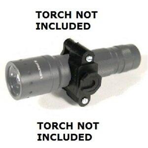 Peter Jones RSTUDKF Police KlickFast Klick Fast Tactical Vest Torch Holder Dock