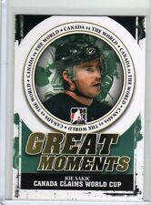 JOE SAKIC 10/11 ITG Canada vs the World #GM-13 Great Moments World Cup Insert