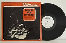 """1969 HOW TO STOP SMOKING RELAXOLOGY SERIES 3 HTF Medical 12"""" Vinyl Record"""