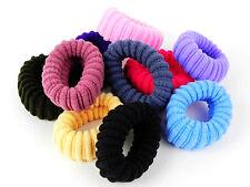 New 10pcs Multi-Color Mix Scrunchies Hair Accessories