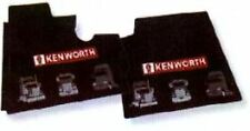 Kenworth OEM Black Rubber Floor Mats w/Red Logo Fits 2001-05 T600 T300 T800 W900