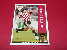 AITOR KARANKA ATHLETIC BILBAO PANINI LIGA 95-96 ESPANA 1995-1996 FOOTBALL