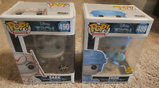 Funko Pop! Tron Sark Chase Glow in the Dark and Tron Lot Of 2 w/ Protectors