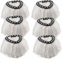 Mop Head Replacement Fit for OCedar Microfiber Easywring Spin Mop Refill - 6 PCS