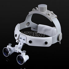 3.5X Headband Surgical Medical Binocular Dental Loupes Magnifier Optical Italy