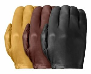 TD301 Tough Gloves Ultra Thin Patrol-X Cabretta unlined leather gloves
