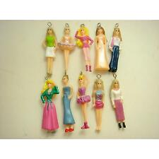 Wholesale Set of 10 pcs Barbie Jewelry Making Assorted Figures Charms Pendant