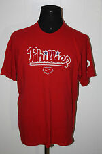 Nike Philadelphia Phillies Red Pullover Tee Shirt L