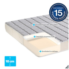 Dormeo Memory Plus King 150 x 200 cm Hypo-allergenic Rolled Mattress + Warranty