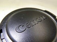Canon Genuine snap-on 58mm Front Lens Cap - Japan E-58 All black