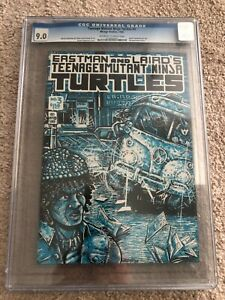 TEENAGE MUTANT NINJA TURTLES #3 - CGC 9.0, 1ST PRINT, SUPER HOT COMIC