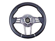 BLACK V2 SPORT STEERING WHEEL for VW will fit Momo OMP Sparco boss kit