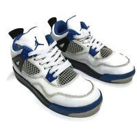 Nike Air Jordan Retro 4 IV Motorsport Shoe Size Youth 2.5 Y 308499-117 Womens 4