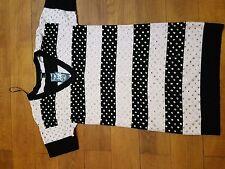 New Sonia Rykiel for H&M Jewel Cotton Knitted Stripy Dress, S