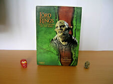 sideshaw weta lord of the rings the fellowship of the ring orc overseer 1/4 bust