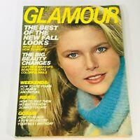 VTG Glamour Magazine September 1977 Christie Brinkley, The Best of New Fall Look
