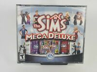 Sims Mega Deluxe 2004 PC CD-ROM Includes: Deluxe Edition, House Party & Hot Date