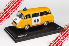 Skoda 1203 VB Police car / public security / yellow (1974)  /Abrex /1:43