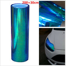 200x30cm Colorful Blue Chameleon Car Tint Headlight Tail Fog Light Vinyl Film