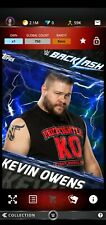 Topps WWE SLAM Digital 2017 Backlash Blue Base Kevin Owens 750CC