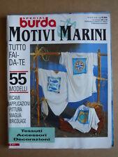 BURDA Special n°19 1995 M2018 Speciale Motivi marini  [C54]