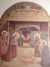 cpa noel illustrateur creche postcard antique christmas crib AK Weihnachten card