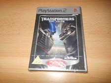 Transformers: THE GAME PLATINUM (PS2) Nuevo Empaquetado PAL VERSIÓN