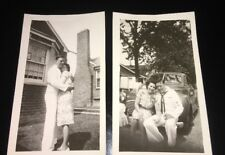 Vintage Photos USA Navy Man With Wife 1945