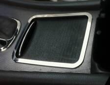 D Mercedes W203 2000-2004 Chrom Rahmen für Mittelkonsole - Aluminium