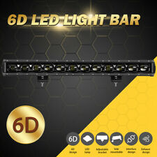 27inch 120W LED Work Light Bar Flood Fog Driving Offroad Lamp 4WD ATV Truck SUV