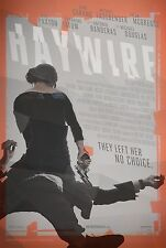 HAYWIRE - Movie Poster Flyer - 11X17 - GINA CARANO