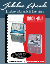 Rock Ola Models 1484 & 1494 Service Manual, Instructions, Parts Catalog in COLOR
