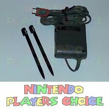 NEW AUTHENTIC OEM - AC Power Adapter Charger for Nintendo DS Lite + 2 Stylus Pen