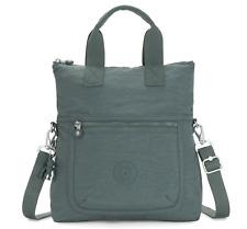 Kipling Shoulder Bag ELEVA Detachable Strap in LIGHT ALOE (Green) SS20  RRP £83