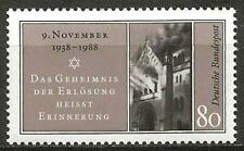 Germany (West) 1988 MNH - 50th Anniv Kristallnacht Synagogue Baden-Baden