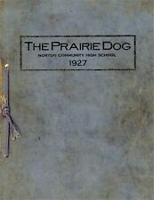 New listing Norton Community Ks High School - 1927 School Annual - The Prairie Dog