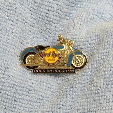Hard Rock Cafe Pin New Orleans Dogs On Hogs 1995