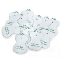 20Pcs Snap On Replacement Pads For Electrode Therapy Tens Unit & Pulse Massager