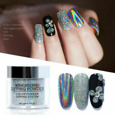 Manicure Nail Art Powder Nail Mirror Glitter Holographic Laser Dipping Pigment