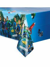 Thunderbirds Space Party Tableware Kids Birthday Decorations Supplies Rocket 1 Plastic Tablecover