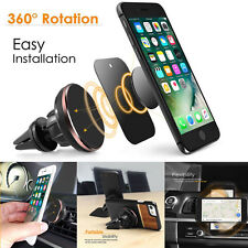 Universal Cell Phone GPS Air Vent Magnetic Car Mount Stand Cradle Holder Bracket